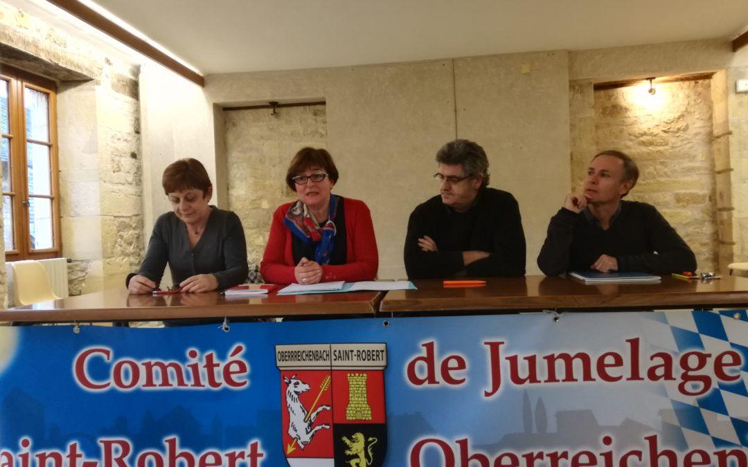 L'ACJL à l'assemblée générale du comité de jumelage de Saint-Robert (19)