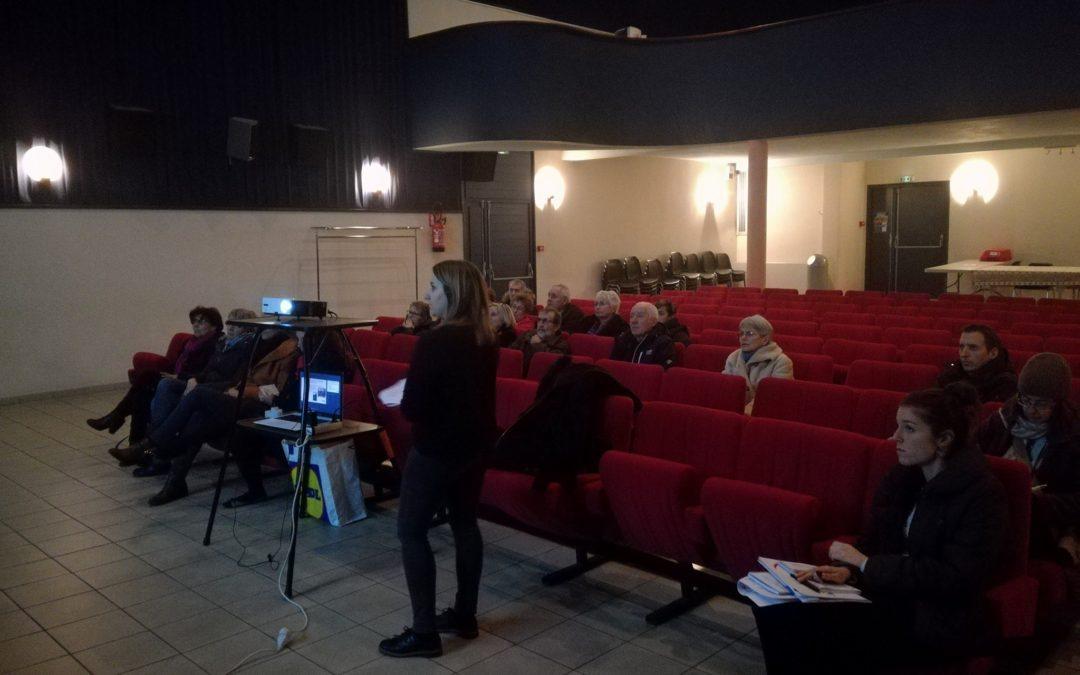 L'ACJL en réunion publique à Peyrat-le-Château (87)