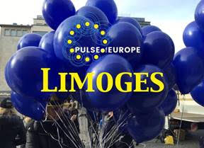 L'ACJL soutient le mouvement Pulse of Europe Limoges