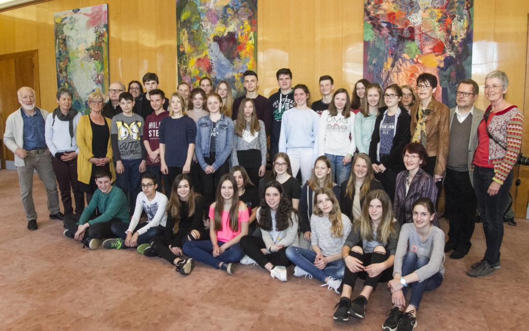 Des lycéens de Schorndorf en visite à Tulle