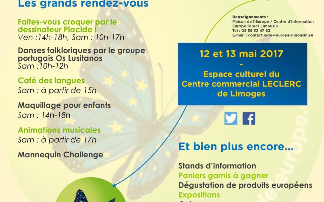 Retour en images sur la fête de l'Europe à Limoges