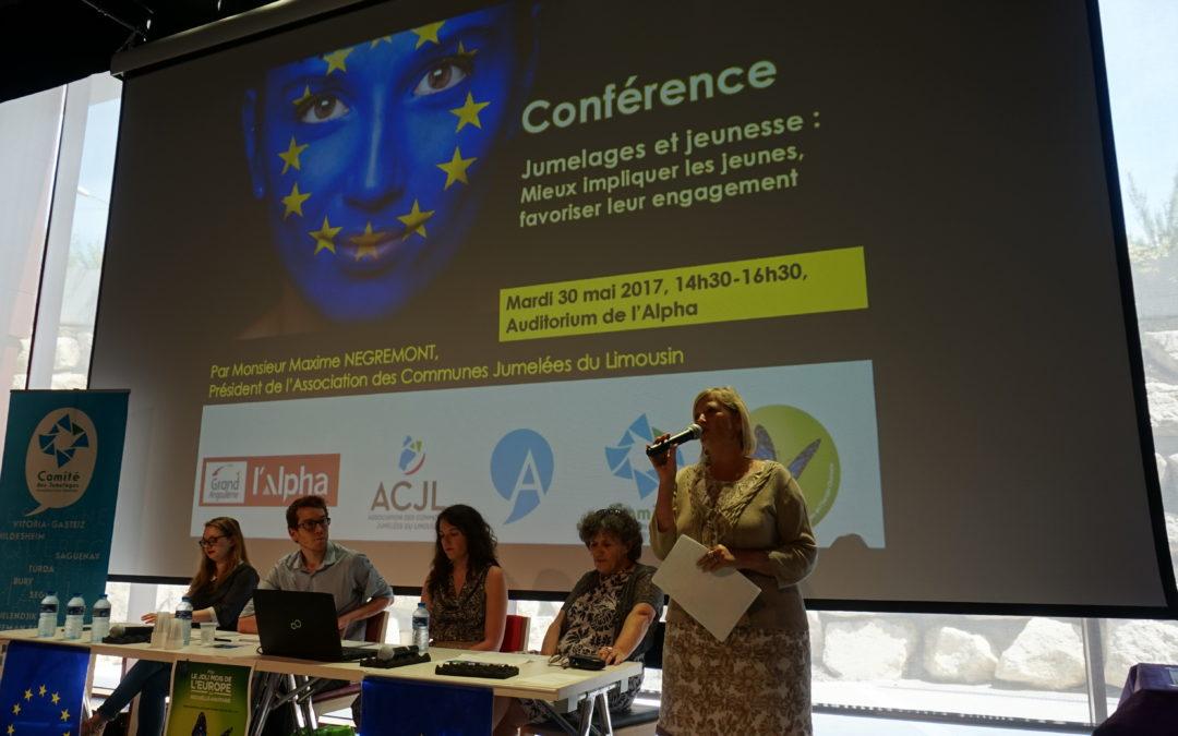 Retour sur la conférence «Jeunes et jumelages» à Angoulême