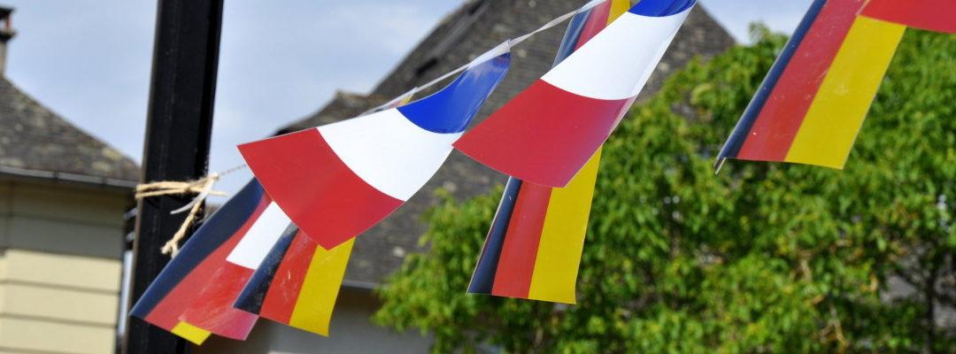 Manifestations franco-allemandes début octobre en Nouvelle-Aquitaine
