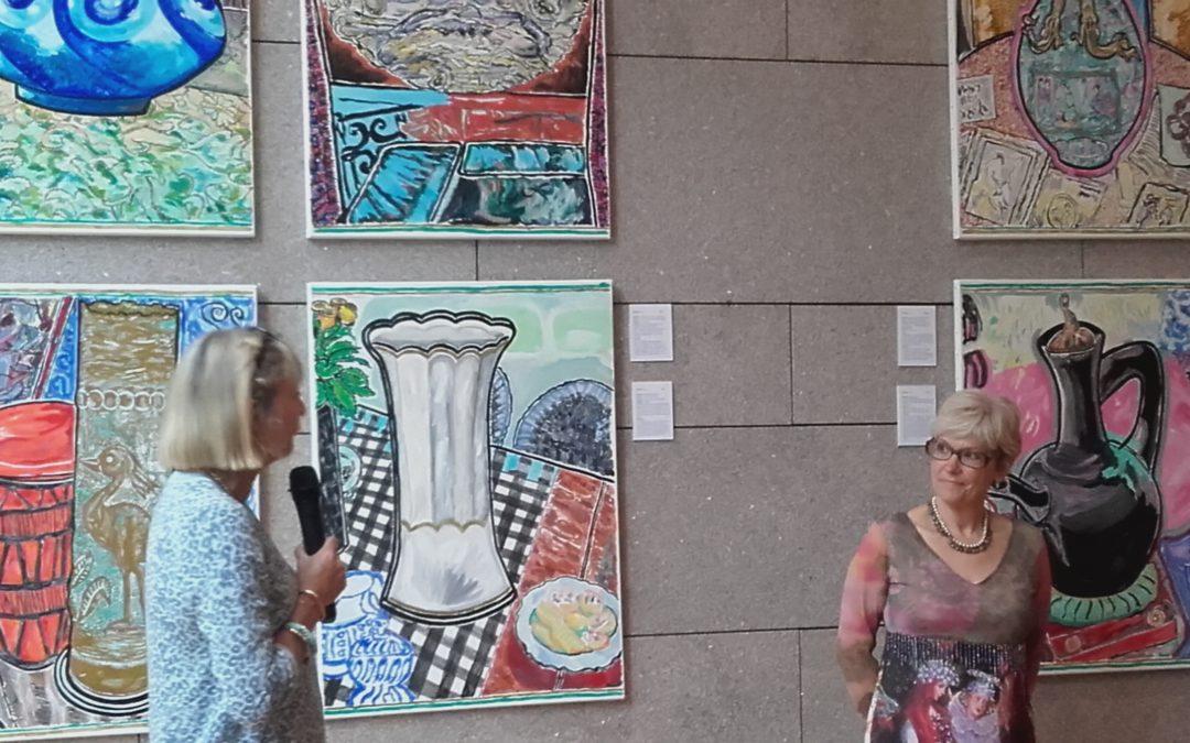 Vernissage de l'exposition «Le vase préféré à Fürth et Limoges»