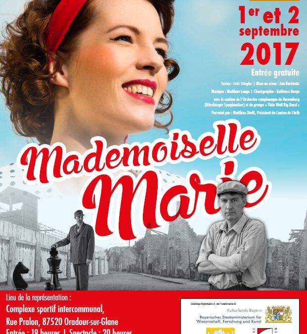 Week-end de l'amitié et de la jeunesse d'Europe à Oradour-sur-Glane les 1er et 2 septembre 2017