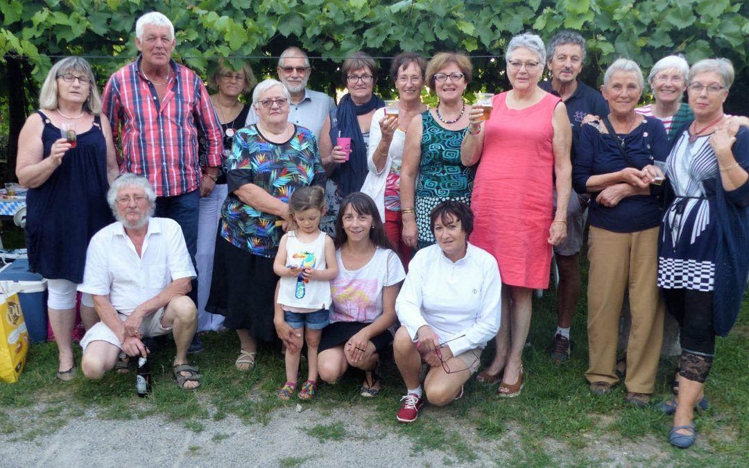 Rencontre inter comités de jumelage à Saint-Robert le 15 juillet dernier