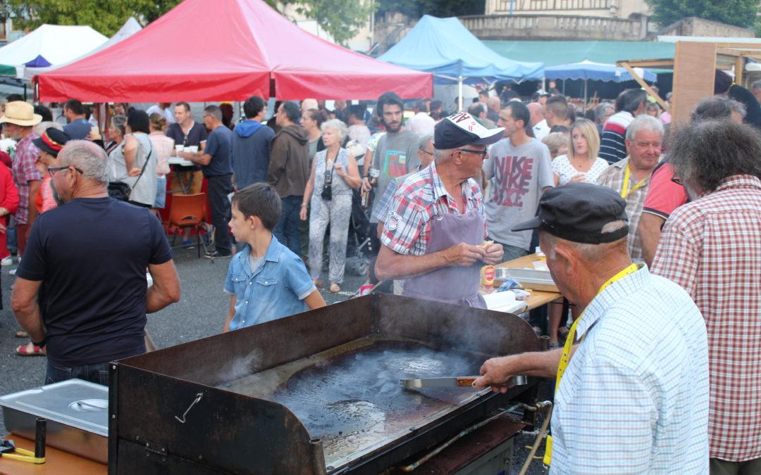 Retour sur le 3e marché nocturne et festif du comité de jumelage d'Aixe-sur-Vienne