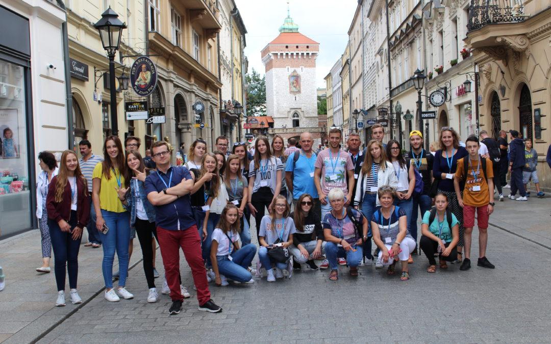 Rencontre de jeunes en Pologne du 26 au 31 août 2017 pour le comité de jumelage d'Aixe-sur-Vienne