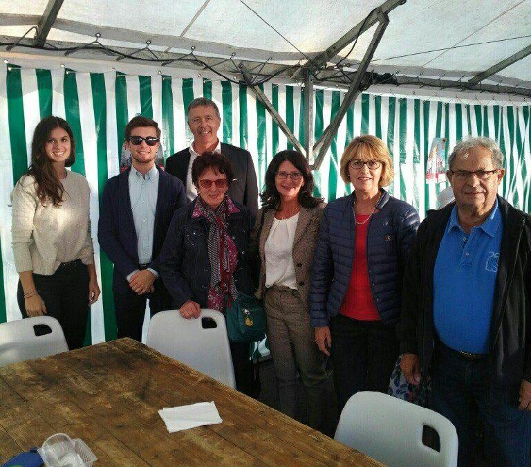 Le comité de jumelage d'Isle a vécu un week-end placé sous le signe de l'amitié franco-allemande