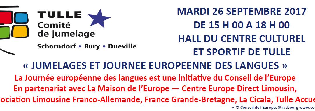 Tulle va fêter la journée européenne des langues