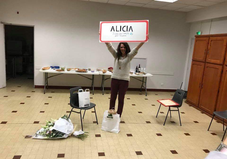 Merci ALICIA !