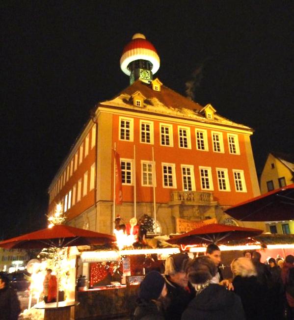 Tulle sera au marché de Noël de Schorndorf