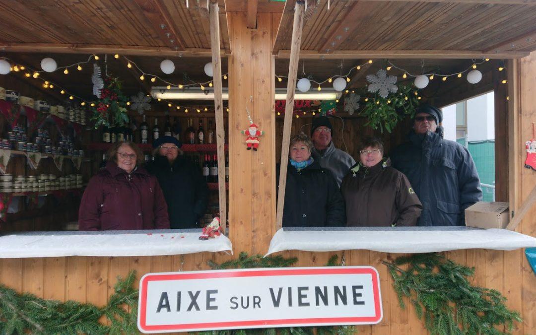 Marchés de Noël 2017 à Aixe-sur-Vienne et Grosshabersdorf