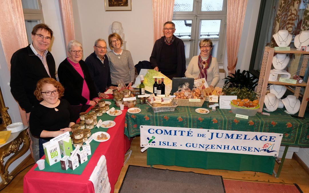 Première participation au marché de Noël de Gunzenhausen pour le jumelage d'Isle