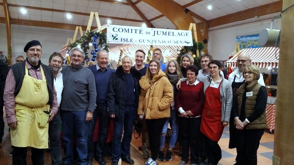 Un marché de Noël grandement réussi à Isle