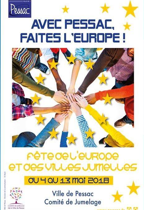 «Faîtes l'Europe avec Pessac» – Un projet soutenu par la Commission européenne