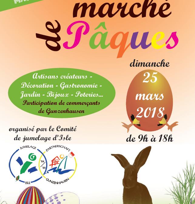 Le comité de jumelage d'Isle organise son 2e marché de Pâques