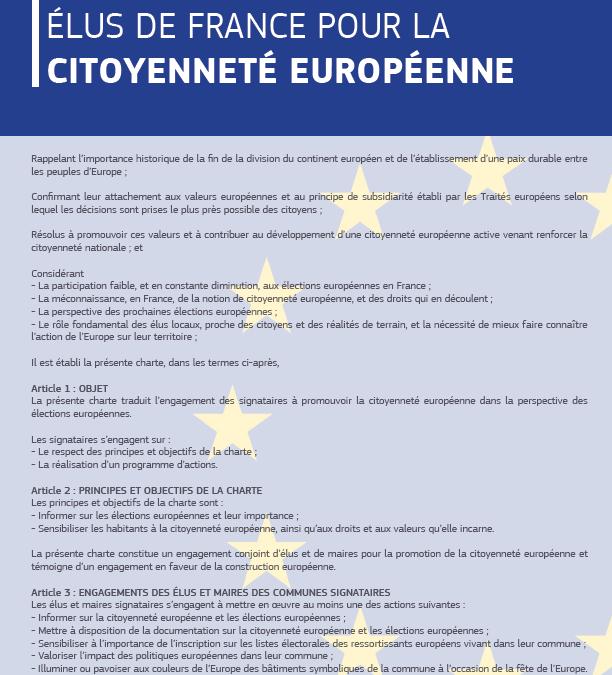 La Ville de Limoges s'engage pour l'Europe