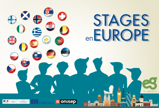 « Stages en Europe » – Le nouveau guide d'Euroguidance