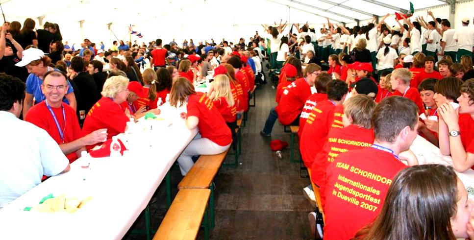 Rencontres internationales du sport et de la jeunesse des villes jumelées à Schorndorf