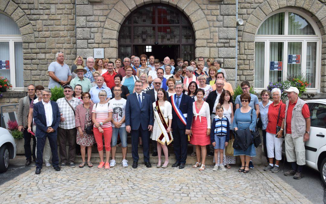 Un 14 juillet avec les amis d'Uffenheim à Egletons (19)