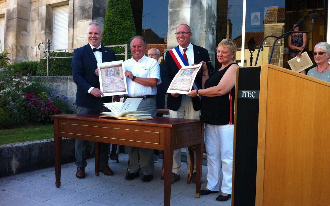 35 ans de jumelage pour Jarnac et Lautertal