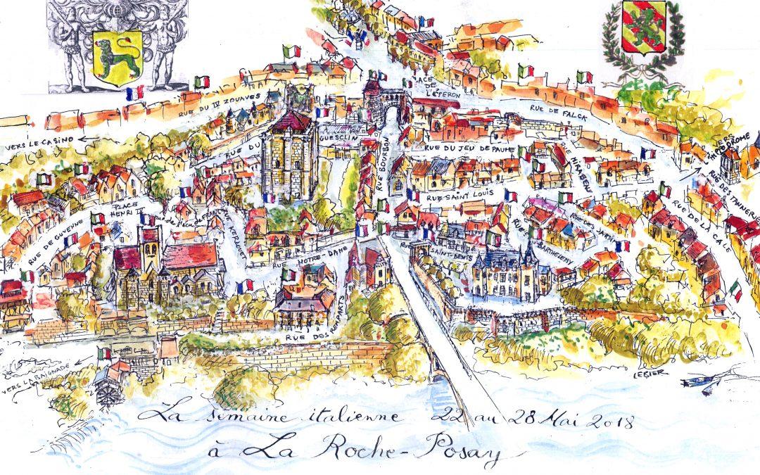 Retour sur la semaine italienne à La Roche-Posay (86)