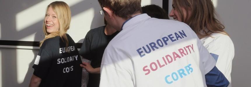 Premier appel à propositions pour le Corps européen de Solidarité