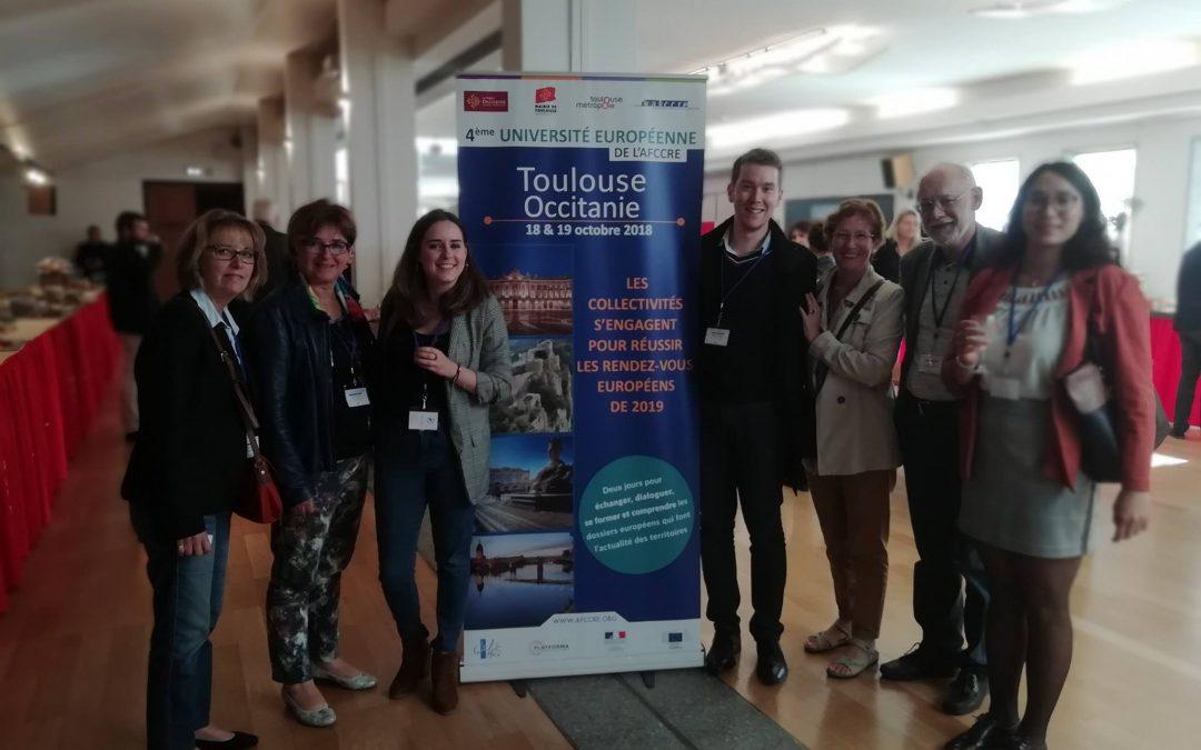A Toulouse, l'AFCCRE mobilisée pour réussir les rendez-vous européens de l'année 2019