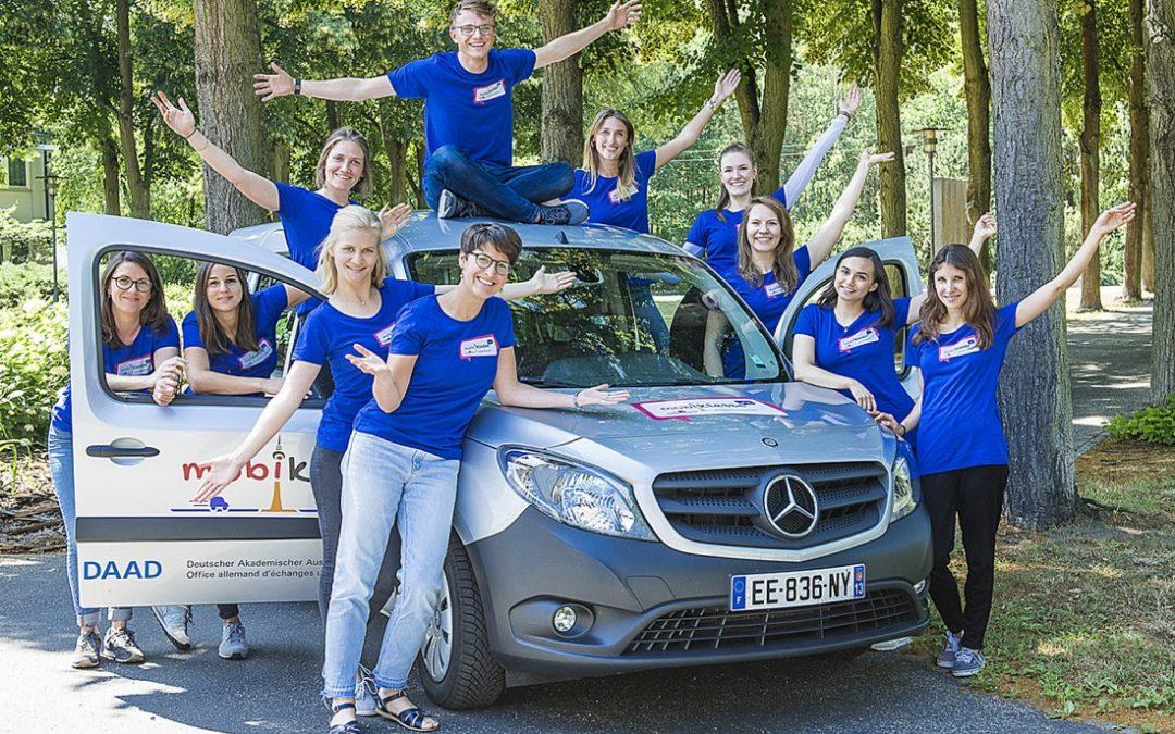 Appels à candidatures 2019/2020 : FranceMobil et mobiklasse.de