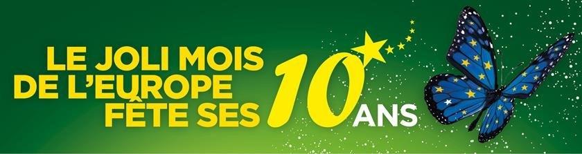 Inscrivez vos actions pour les 10 ans du Joli Mois de l'Europe en Nouvelle-Aquitaine !
