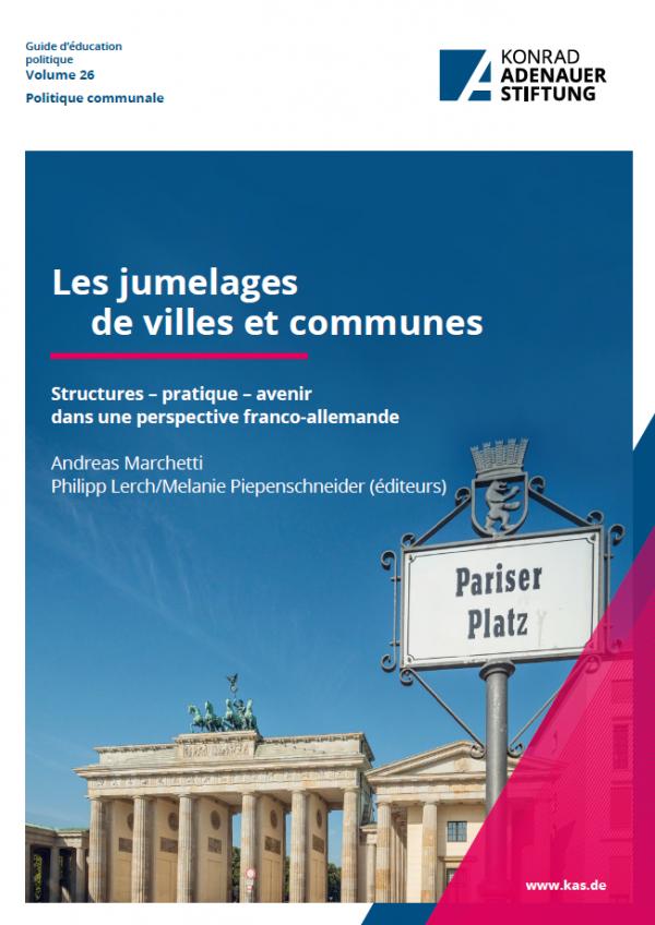 """Etude """"Les jumelages de villes et communes"""""""