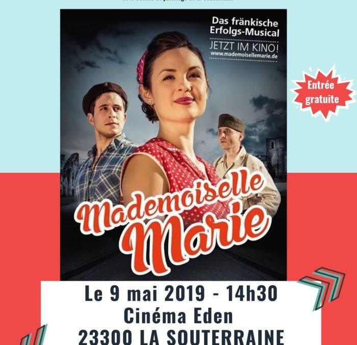 Ciné-débat «Mademoiselle Marie» le 9 mai à La Souterraine