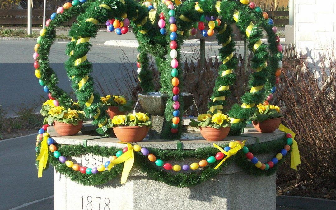 La tradition des fontaines de Pâques respectée en 2019
