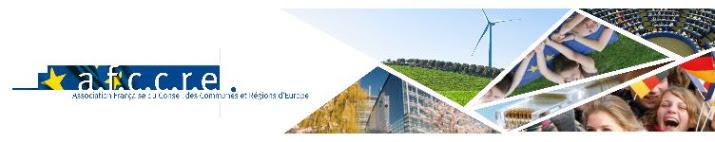 Université européenne de l'AFCCRE 2019