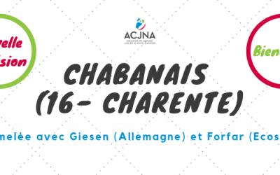 Bienvenue à la commune de Chabanais (16)