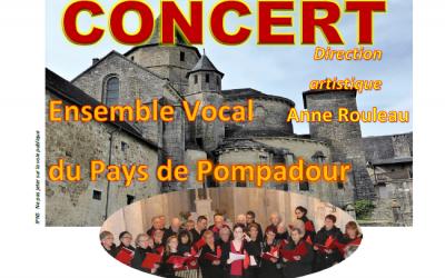 Concert gratuit à Saint-Robert le 31/05/2019