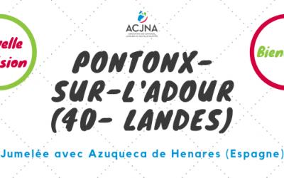 Bienvenue à la commune de Pontonx-sur-l'Adour (40)