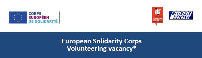 Offre volontariat CES en Moldavie à partir du 1er septembre 2019 (10 mois)