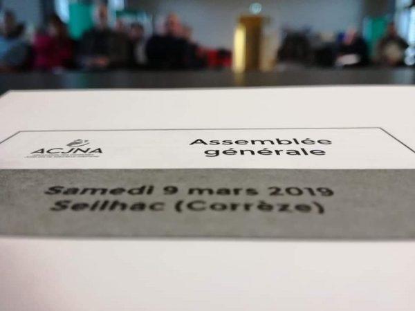 Compte-rendu de l'assemblée générale de l'ACJNA 2019