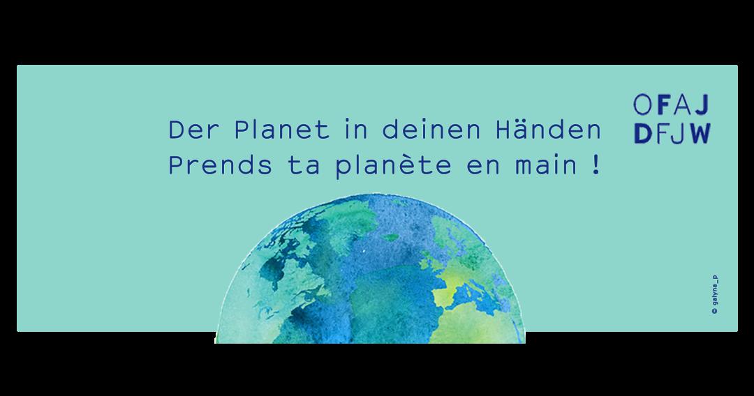 Appel à projets 2020 «Prends ta planète en main !»