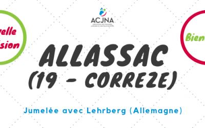 Bienvenue à la commune d'Allassac (19)