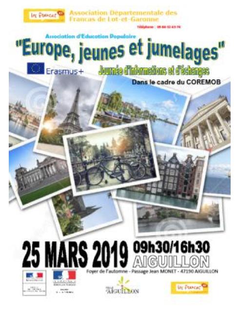 Une journée Europe, jeunes et jumelages en Lot-et-Garonne