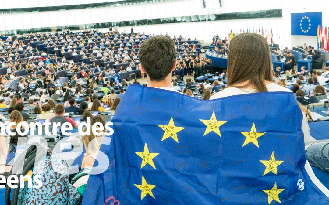 Rencontre des jeunes Européens à Strasbourg : tenez-vous prêts pour EYE2020 – Strasbourg, 29 et 30 mai 2020