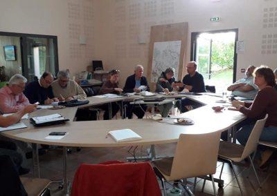 19-10-09-(4)Réunion des bureaux à Chirac