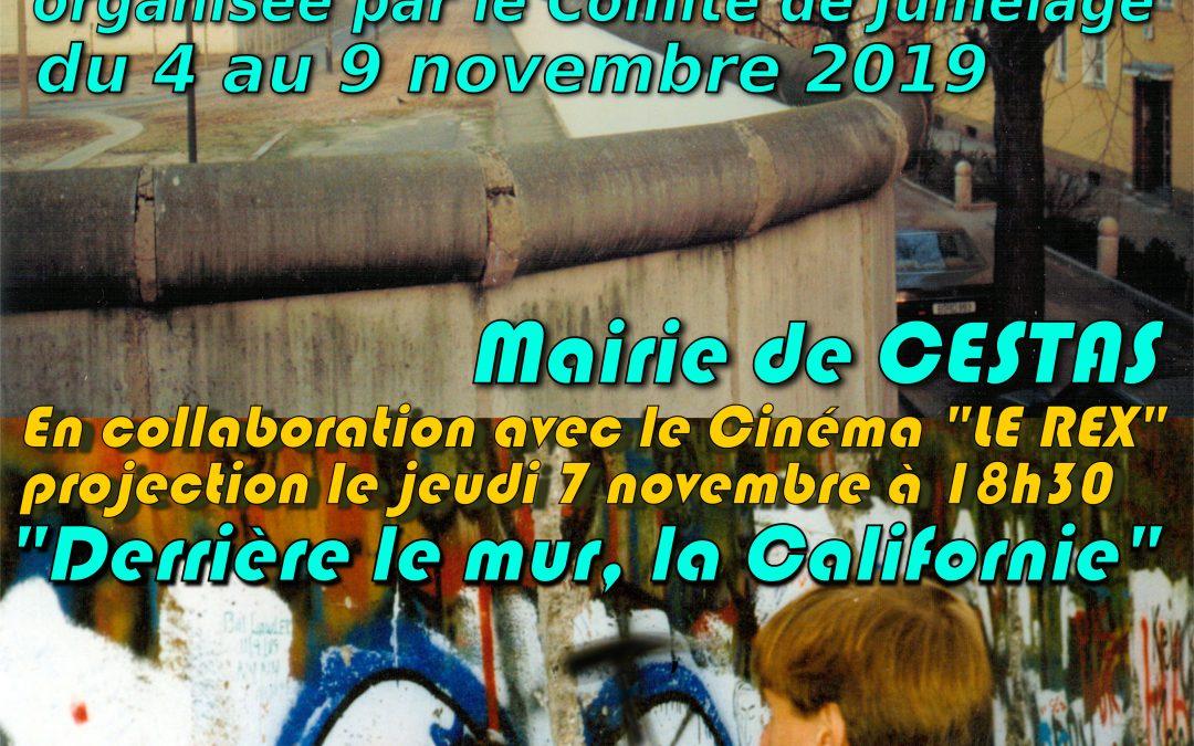30 ans de la chute du Mur de Berlin : exposition et film à Cestas