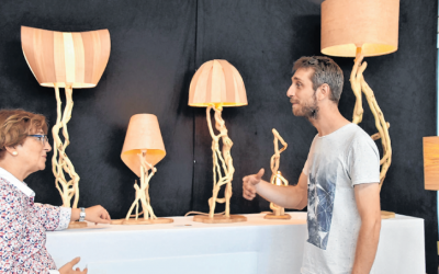 Journée du bois à Scheinfeld : un jeune artiste limousin présent