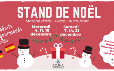 Fêtes de Noël : l'ACJNA vous propose des produits européens