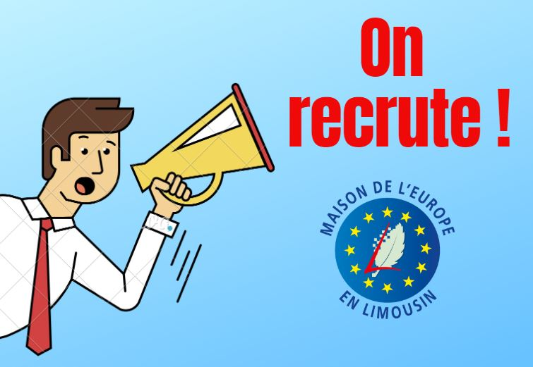 La Maison de l'Europe en Limousin recrute un(e) chargé(e) d'évènement