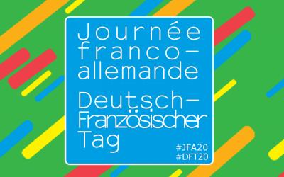 SAVE THE DATE : venez célébrer la journée franco-allemande le 22 janvier 2020